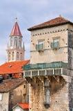 Toren van Trogir, Kroatië Stock Afbeelding