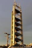 Toren van TV van het Park van China de Olympische in Peking Stock Fotografie