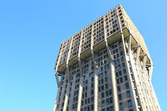 Toren Velasca in Milaan, Italië Royalty-vrije Stock Afbeeldingen