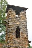 Toren-wrak in Orlovsky-park stock foto