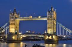 Torenbrug over de rivier Theems in Londen Royalty-vrije Stock Foto's