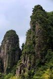 Torenhoge bergen Royalty-vrije Stock Fotografie