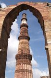 Torenhoge Minaret Royalty-vrije Stock Afbeeldingen
