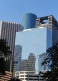 Torenhoge Stad Royalty-vrije Stock Afbeeldingen