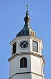 Torenklok royalty-vrije stock afbeeldingen
