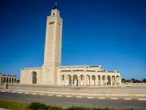 Torens en muren van Ribat van Medina in Sousse, Tunesië Juli 2013 Royalty-vrije Stock Foto's