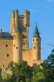 Torens van Alcazar in Segovia Royalty-vrije Stock Foto