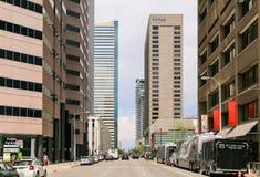 Torens van Denver Stock Foto's