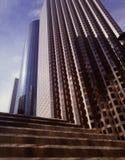 Torens van handel Stock Afbeelding