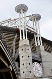 Torens van het stadion van Ajax dichtbij Amsterdam stock foto's