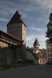 Torens van Oud Tallinn Stock Afbeeldingen
