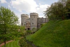 Torens van Windsor Castle Royalty-vrije Stock Foto's