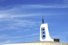 Torenspits met klokken Royalty-vrije Stock Fotografie