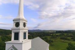 Torenspits van de Stowe de Communautaire Kerk Royalty-vrije Stock Afbeeldingen