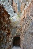 Torent de Pareis Canyon,Mallorca Stock Images