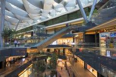 Toreo Parque central köpcentrum i Mexico - stad Fotografering för Bildbyråer