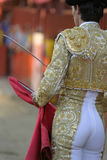 Torero. Waiting torero Stock Photography