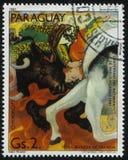 Torero da Pablo Picasso fotografia stock libera da diritti