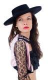 Torero de la mujer Foto de archivo libre de regalías