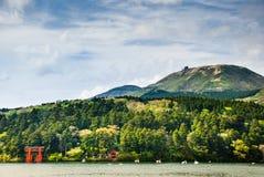 Tori σε Hakone, Ιαπωνία Στοκ εικόνα με δικαίωμα ελεύθερης χρήσης
