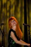 Tori Amos no concerto Fotografia de Stock Royalty Free