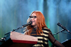 Tori Amos (singer, songwriter, pianist and composer) performs at Primavera Sound 2015 Stock Image