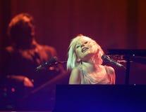 Tori Amos utför i konsert arkivfoton