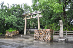 Tori gate Stock Photo