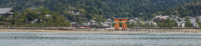 Tori gate in Japan Stock Photos