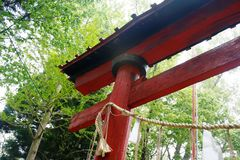 Tori gate kyoto Stock Photography