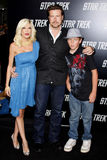 Tori Spelling and Dean McDermott Royalty Free Stock Images
