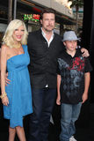 Tori Spelling,Dean McDermott Stock Photos
