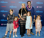 Tori Spelling and Dean McDermott Stock Images
