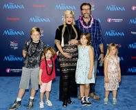 Tori Spelling and Dean McDermott Royalty Free Stock Photo