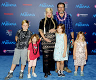 Tori Spelling et doyen McDermott Photos stock