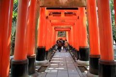 给torii装门 库存照片