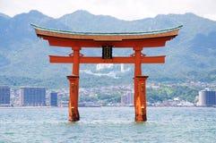 torii θάλασσας Στοκ εικόνες με δικαίωμα ελεύθερης χρήσης