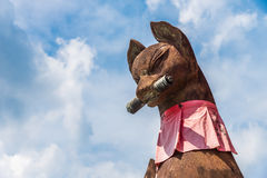 Torii - ιαπωνική αλεπού Στοκ Εικόνα