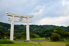 Torii στο νησί Iki Στοκ εικόνες με δικαίωμα ελεύθερης χρήσης