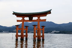 Torii brama Japonia Obrazy Royalty Free