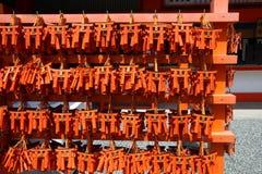 Torii de Fushimi Inari Imagenes de archivo
