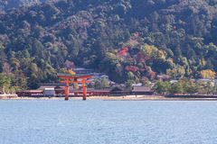 Torii de Miyajima Imagem de Stock