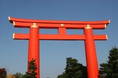Torii de tombeau de Heian Photo libre de droits