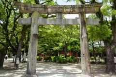 Torii en Fukuoka Fotografía de archivo libre de regalías