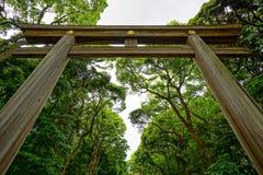 Torii en Tokio fotografía de archivo