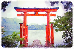 Torii Gate Stock Photography