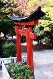 Torii gate of Japanese shrine royalty free stock image