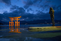 Torii gate, Japan. Royalty Free Stock Photography