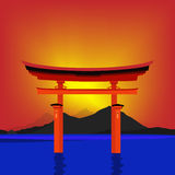 Torii gate Royalty Free Stock Image