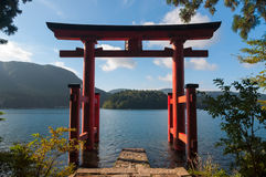 Torii Gate Royalty Free Stock Photography
